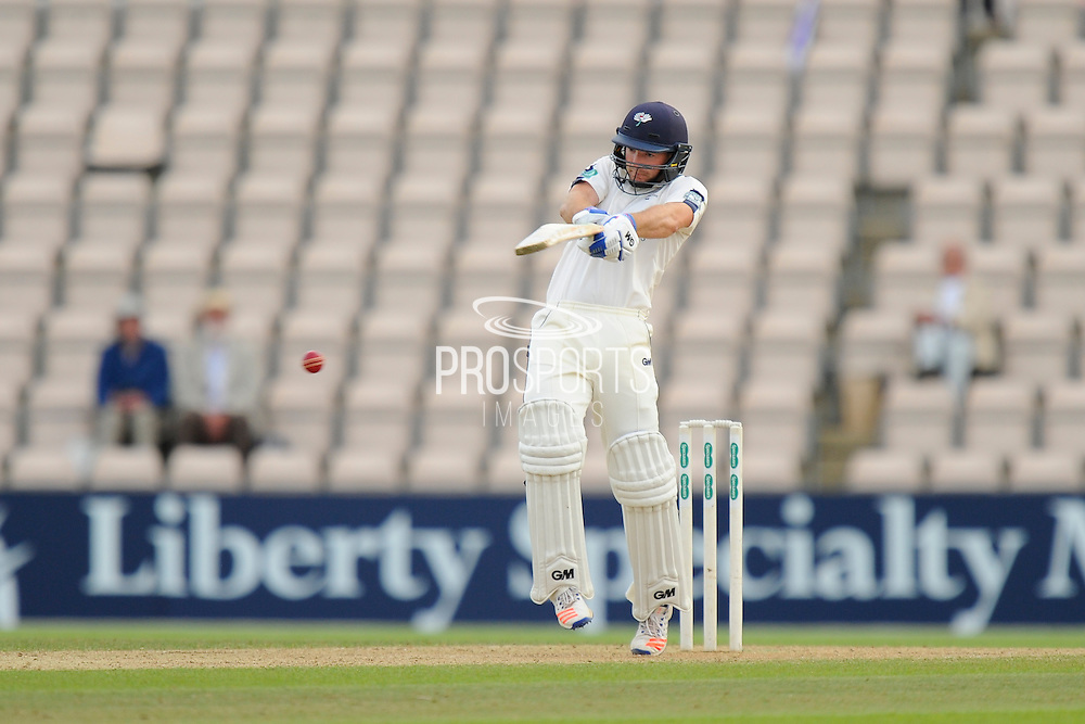 Adam Lyth of Yorkshire batting during the Specsavers County Champ Div 1 match between Hampshire County Cricket Club and Yorkshire County Cricket Club at the Ageas Bowl, Southampton, United Kingdom on 1 September 2016. Photo by Graham Hunt.