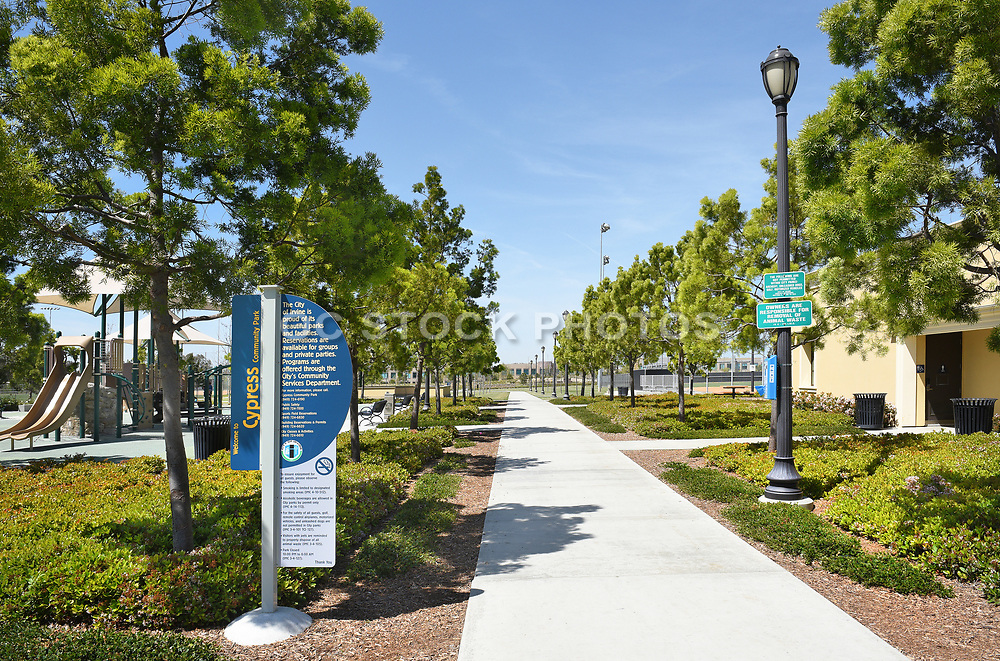 Cypress Community Park in the City of Irvine