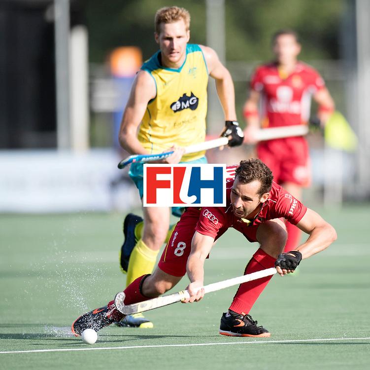 BREDA - Rabobank Hockey Champions Trophy<br /> Australia - Belgium <br /> Photo: Florent van Aubel.<br /> COPYRIGHT WORLDSPORTPICS FRANK UIJLENBROEK
