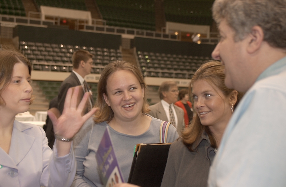 2001 Teacher Recruitment Career Fair