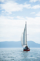 Sailing, Puget Sound, Washington.