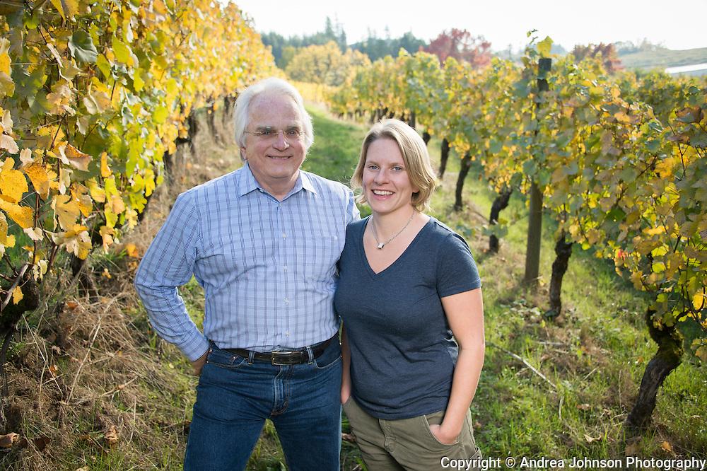 Harry Peterson-Nedry and Wynne Peterson-Nedry, Chehalem Wines, Willamette Valley, Oregon