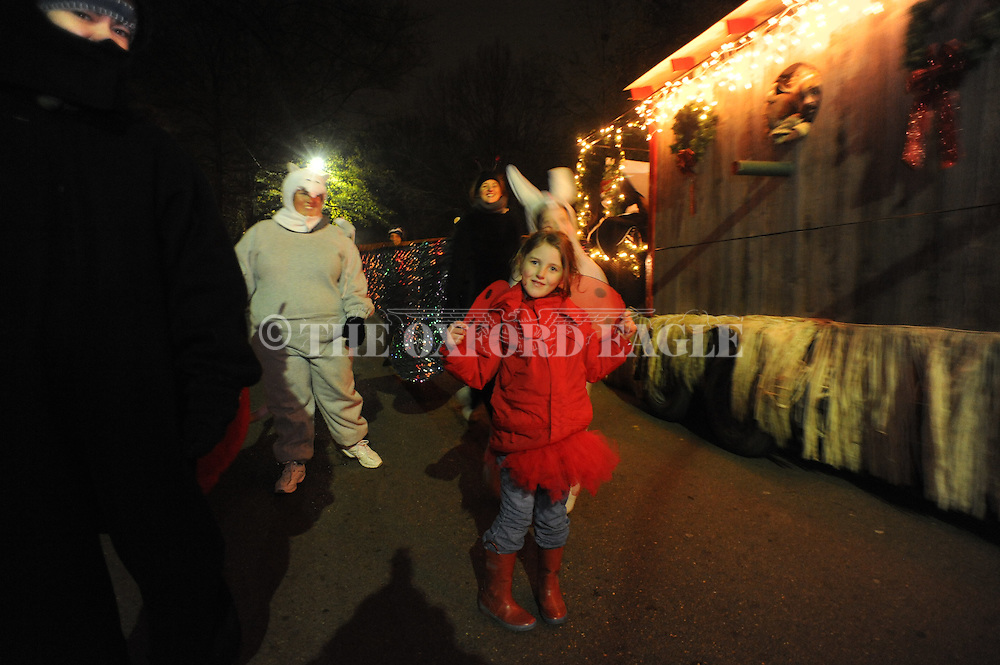 Christmas parade in Oxford, Miss. on Tuesday, December 6, 2011.