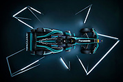 Jaguar I - Type 2 race car is unveiled.<br /> Panasonic Jaguar Racing - CHARGE LIVE EVENT at Whitely Engineering Centre, Warwickshire, UK on Thursday 21 September 2017<br /> Photo: LAT / Panasonic Jaguar Racing