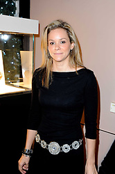 Cosmetics heiress MARIE GUERLAIN at a party to celebrate the launch of Armin Storm's One Week Watch at Asprey, 167 New Bond Street, London W1 on 18th November 2010.