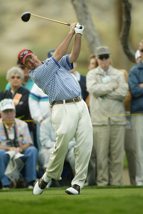 Rich Beem..2004 Bob Hope Chrysler Classic.Third Round.Indian Wells CC.Friday, January 23 2004..Photograph by Darren Carroll .