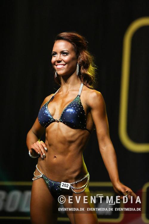 Camilla Østergaard Hansen. Bikinifitness Women -172cm. Danske mesterskaber i fitness og bodybuilding 2014 i Herning Kongrescenter, 28. september 2014.