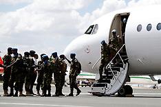 Kenya - Kenyan Defense Forces Return Home From South Sudan - 09 Nov 2016