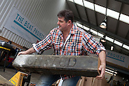 England, Emsworth, The Boat Project. 25  February  2011. Mark Covell, Technical Manager, The Boat Project.