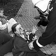 Oefening brandweer Zeist en Rode Kruis Noordweg Zeist