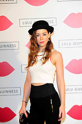 """Lulu Guinness Paint Project.<br /> Roxanne McKee attends the """"Lulu Guinness paint project in collaboration with beautiful crime and their artist Joseph Steele"""" Held at the old sorting office, Oxford street,<br /> London, United Kingdom<br /> Thursday, 11th July 2013<br /> Picture by Chris  Joseph / i-Images"""
