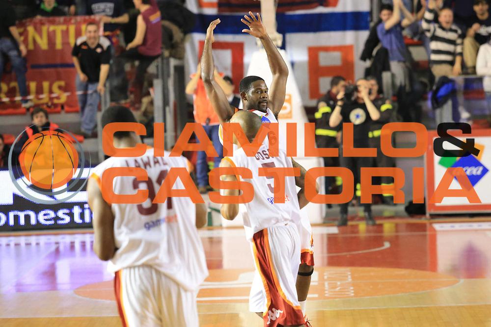 DESCRIZIONE :  Roma Lega A 2012-13 Acea Roma Umana Reyer Venezia<br /> GIOCATORE : Jones Bobby<br /> CATEGORIA : esultanza<br /> SQUADRA : Acea Roma<br /> EVENTO : Campionato Lega A 2012-2013 <br /> GARA : Acea Roma Umana Reyer Venezia<br /> DATA : 16/03/2013<br /> SPORT : Pallacanestro <br /> AUTORE : Agenzia Ciamillo-Castoria/M.Simoni<br /> Galleria : Lega Basket A 2012-2013  <br /> Fotonotizia : Roma Lega A 2012-13 Acea Roma Umana Reyer Venezia<br /> Predefinita :