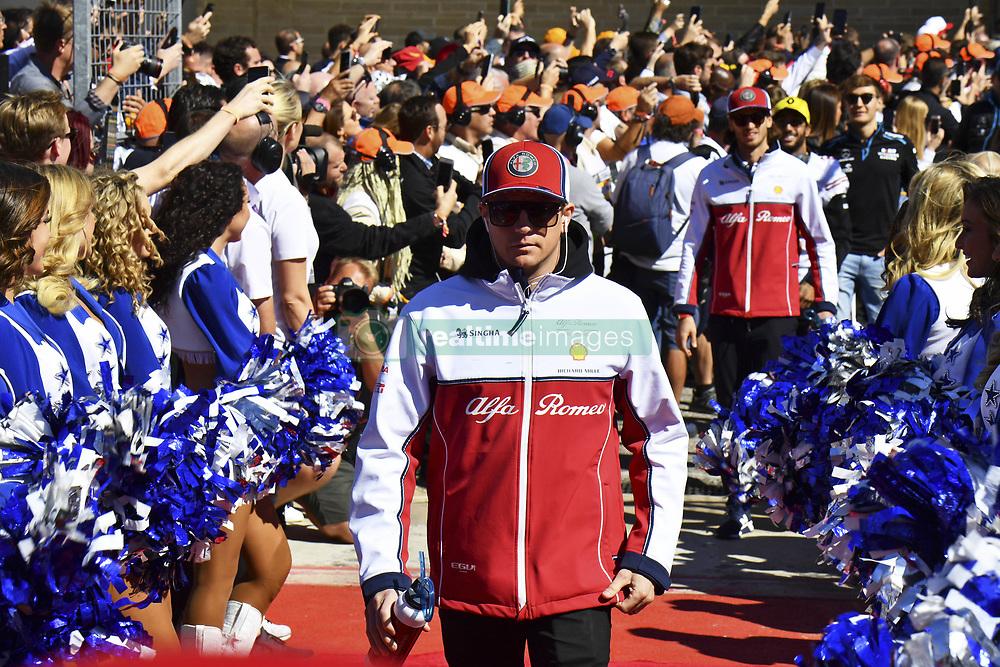 November 3, 2019, Austin, United States of America: Motorsports: FIA Formula One World Championship 2019, Grand Prix of United States, ..#7 Kimi Raikkonen (FIN, Alfa Romeo Racing) (Credit Image: © Hoch Zwei via ZUMA Wire)