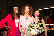 Kalen Aubry, Jenni Luke, and Founder of Step Up Women's Network Kaye Popofsky Kramer