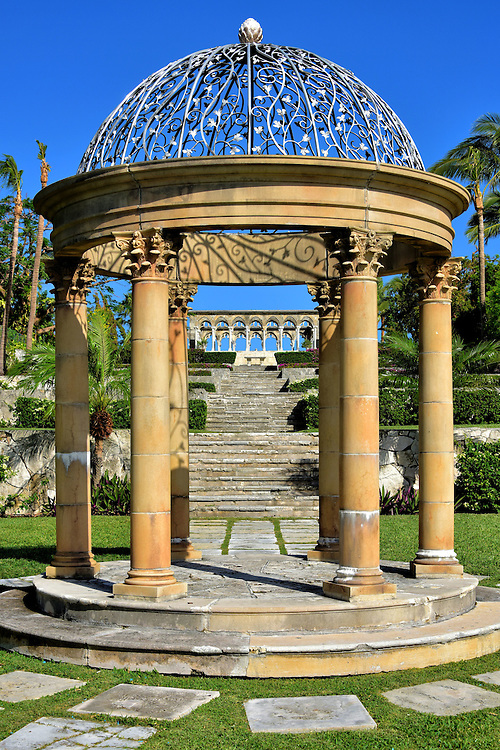 Gazebo at the Cloisters in Nassau, Bahamas<br />
