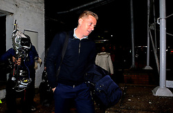 Leeds United manager Garry Monk arrives at the Cambs Glass Stadium ahead of the FA Cup fixture between his side and Cambridge United - Mandatory by-line: Robbie Stephenson/JMP - 09/01/2017 - FOOTBALL - Cambs Glass Stadium - Cambridge, England - Cambridge United v Leeds United - FA Cup third round