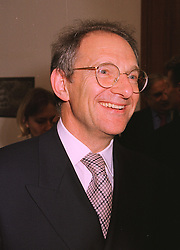 MR DAVID GORDON secretary of the Royal Academy of Art,  at an exhibition in London on 15th September 1998.MKB 20