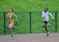 21 Aug 2016:  Boys U10 200m final. 2016 Community Games National Festival 2016.  Athlone Institute of Technology, Athlone, Co. Westmeath. Picture: Caroline Quinn