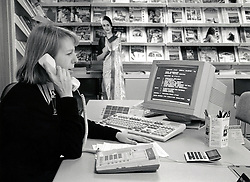 Travel agent, Nottingham UK 1990s