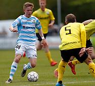 FODBOLD: Tobias Christensen (FC Helsingør) under kampen i NordicBet Ligaen mellem FC Helsingør og Vendsyssel FF den 14. maj 2017 på Helsingør Stadion. Foto: Claus Birch