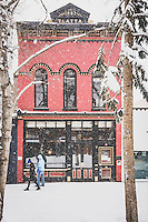 Historic Red Onion Bar and Restaurant built in 1892, Aspen, Colorado.