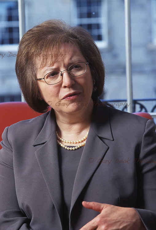 SUSAN RICE.CHIEF EXECUTIVE,LLOYDS TSB.PICTURE BY GARY DOAK.