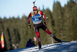 Simon Eder (AUT) in action during the Men 10km Sprint at day 6 of IBU Biathlon World Cup 2018/19 Pokljuka, on December 7, 2018 in Rudno polje, Pokljuka, Pokljuka, Slovenia. Photo by Vid Ponikvar / Sportida
