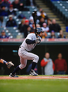 The Seattle Mariners defeated the Cleveland Indians 7-2 on April 29, 2008 at Progressive Field in Cleveland..Ichiro Suzuki singles against the Indians.