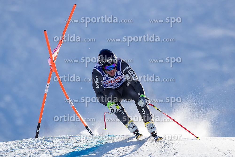 03.12.2016, Val d Isere, FRA, FIS Weltcup Ski Alpin, Val d Isere, Abfahrt, Herren, im Bild Valentin Giraud Moine (FRA) // Valentin Giraud Moine of France in action during the race of men's Downhill of the Val d'Isere FIS Ski Alpine World Cup. Val d'Isere, France on 2016/12/03. EXPA Pictures © 2016, PhotoCredit: EXPA/ Johann Groder