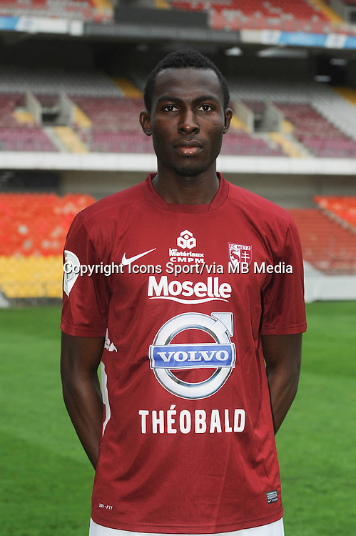 Kwame NSOR - 11.12.2013 - Photo Officielle - Metz -<br /> Photo : Icon Sport