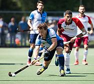 AMSTELVEEN -  Niek Collot d'Escury (Hurley)    Play Offs / Outs Hockey hoofdklasse.  Hurley-Almere (0-1) . Almere wint blijft in de hoofdklasse. COPYRIGHT KOEN SUYK