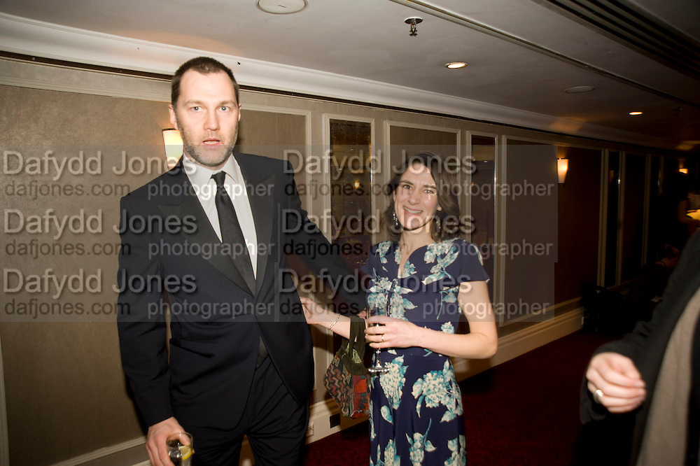 DAVID MORRISEY; ESTHER FREUD, The Laurence Olivier Awards, The Grosvenor House Hotel. Park Lane. London. 8 March 2009 *** Local Caption *** -DO NOT ARCHIVE -Copyright Photograph by Dafydd Jones. 248 Clapham Rd. London SW9 0PZ. Tel 0207 820 0771. www.dafjones.com<br /> DAVID MORRISEY; ESTHER FREUD, The Laurence Olivier Awards, The Grosvenor House Hotel. Park Lane. London. 8 March 2009