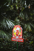 A sign at the Raffles Hotel celebrating 100 years of the Singapore Sling cocktail.
