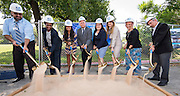 Groundbreaking ceremony for expansion of Eastwood Academy, October 4, 2016.