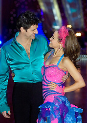 Tom Chambers and Rachel Stevens pose at the Strictly Come Dancing on tour Photo call MEN Arena 21 January 2009 © Paul David Drabble