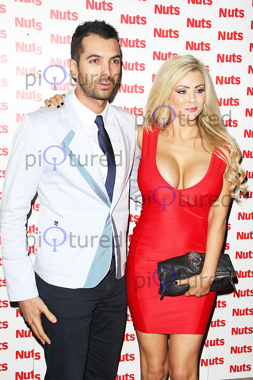 Nicola McLean, Nuts Magazine - 10th Birthday Party, Aura Mayfair, London UK, 23 January 2014, Photo by Brett D. Cove