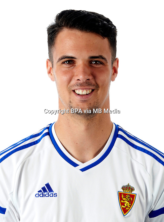 Spain - La Liga B 123 _ 2016-2017 / <br /> ( Real Zaragoza ) - <br /> Erik Moran Arribas &quot; Erik Moran &quot;