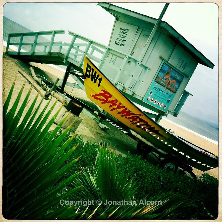 Baywatch lifeguard tower