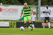 Forest Green Rovers Liam Noble (15) on the ball during the Vanarama National League match between Forest Green Rovers and Bromley FC at the New Lawn, Forest Green, United Kingdom on 17 September 2016. Photo by Shane Healey.
