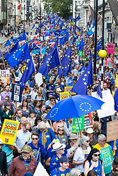 © Licensed to London News Pictures. 20/07/2019. London, UK. Thousands of anti-Brexit protesters join the March for Change in London. Photo credit: Rob Pinney/LNP