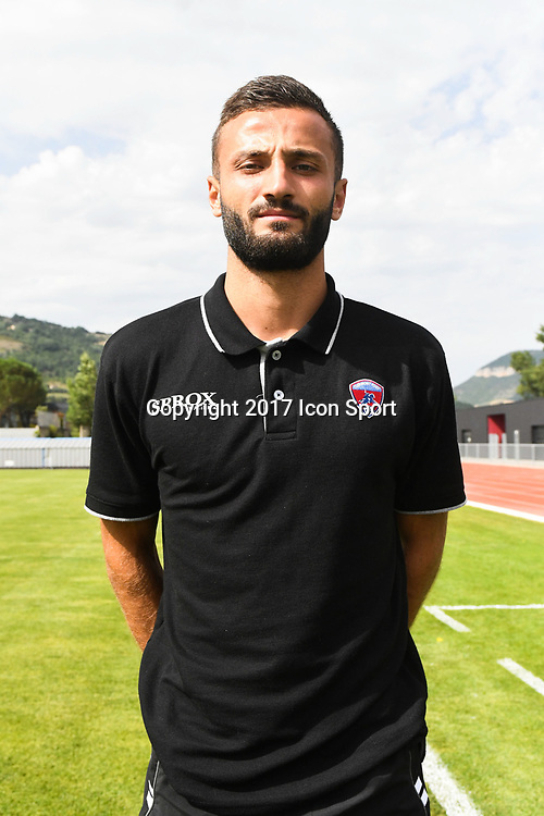 Franck Honorat of Clermont during the friendly match between Montpellier Herault and Clermont foot on July 19, 2017 in Millau, France. (Photo by Philippe Le Brech/Icon Sport)