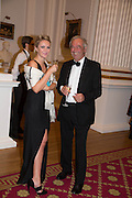 MISS GILLIAN FERGUSON; WITH HER FATHER ANDREW FERGUSON, The National Trust for Scotland Mansion House Dinner. Mansion House, London. 16 October 2013