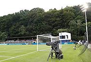 FODBOLD: Helsingør Stadion før kampen i ALKA Superligaen mellem FC Helsingør og OB den 24. juli 2017 på Helsingør Stadion. Foto: Claus Birch