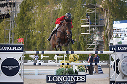 Wathelet Gregory, (BEL), Conrad de Hus <br /> First Round<br /> Furusiyya FEI Nations Cup Jumping Final - Barcelona 2015<br /> © Dirk Caremans<br /> 24/09/15
