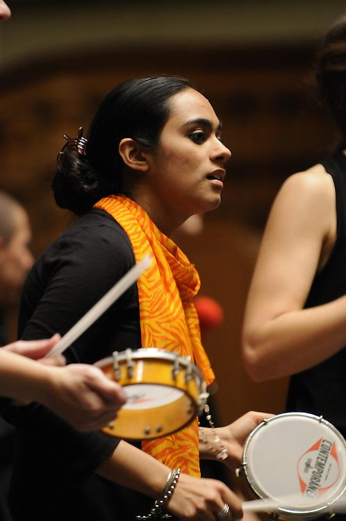Samba Laranja in concert at Setnor Auditoriuml, at SU