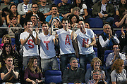 Stan Wawrinka fans during the ATP World Tour Finals at the O2 Arena, London, United Kingdom on 20 November 2015. Photo by Phil Duncan.