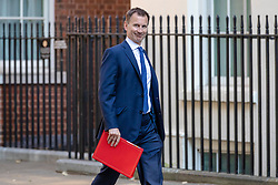 © Licensed to London News Pictures. 17/07/2018. London, UK. Foreign Secretary Jeremy Hunt arrives on Downing Street for the Cabinet meeting. Photo credit: Rob Pinney/LNP