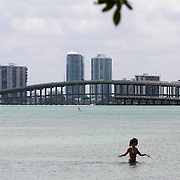Crandon Park's beautiful two-mile beach is consistently named among the top ten beaches in the nation. It is one of the most popular recreation destinations in all of Miami-Dade County, enjoyed by millions of residents and tourists each year. On the northern part of Key Biscayne, It is connected to mainland Miami via the Rickenbacker Causeway.<br /> <br /> Photography by Jose More