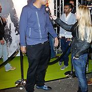 NLD/Amsterdam/20111107- Lancering Call of Duty MW3, DJ Afrojack, Nick van der Wall word geinterviewd door SBS Shownieuws