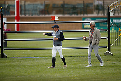 Lamaze Eric, CAN, Flameng Eric, BEL<br /> Spruce Meadows Masters - Calgary 2017<br /> © Hippo Foto - Dirk Caremans<br /> 10/09/2017,